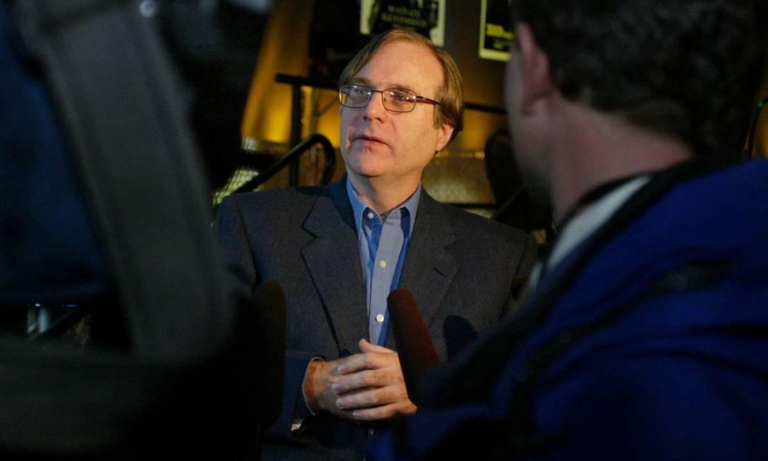Paul Allen, cofundador da Microsoft Foto: Anthony Bolante / REUTERS/Arquivo