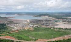 Referência. Usina de Belo Monte: nos últimos anos, país construiu hidrelétricas a fio d'água Foto: Agência O Globo