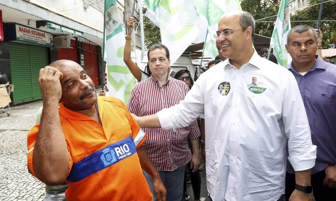 Wilson Witzel omitiu empresas da Justiça Eleitoral