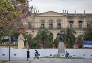 O Museu Nacional Foto: Ana Branco/1-10-2018 / Agência O Globo