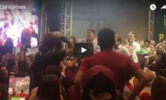 Cid Gomes: ataques a petistas em evento do PT Foto: Reprodução