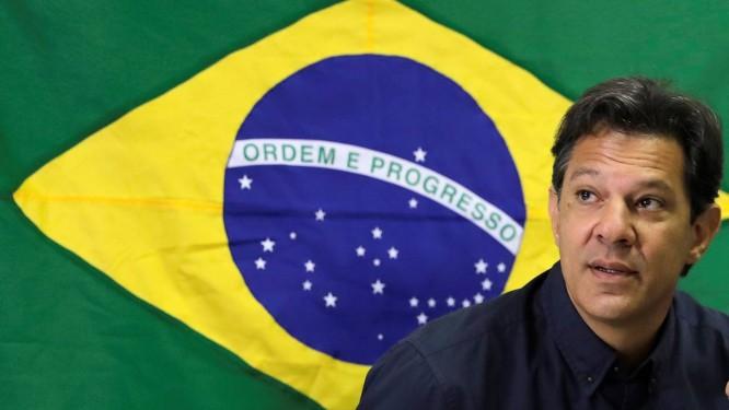 Fernando Haddad, candidato à presidência Foto: PAULO WHITAKER / REUTERS