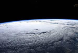 Furacões com alto poder destrutivo são cada vez mais constantes no Atlântico Norte Foto: RICKY ARNOLD / AFP