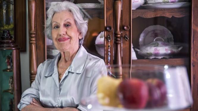 Lúcia Pacífico, que fundou em 1983 o Movimento das Donas de Casa de Minas Gerais Foto: ANDRE FOSSATI / Agência O Globo