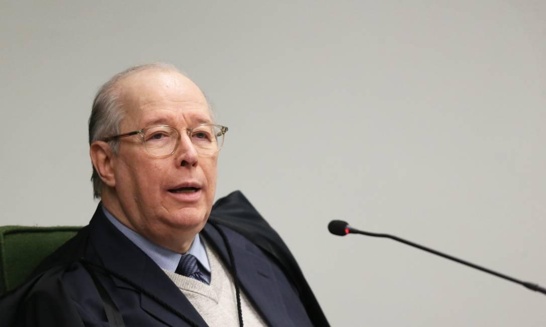 O ministro Celso de Mello, durante sessão da Segunda Turma do STF Foto: Ailton de Freitas/Agência O Globo/25-09-2018