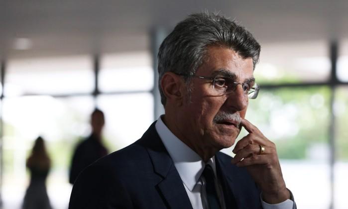 O senador Romero Jucá Foto: Givaldo Barbosa / Agência O Globo