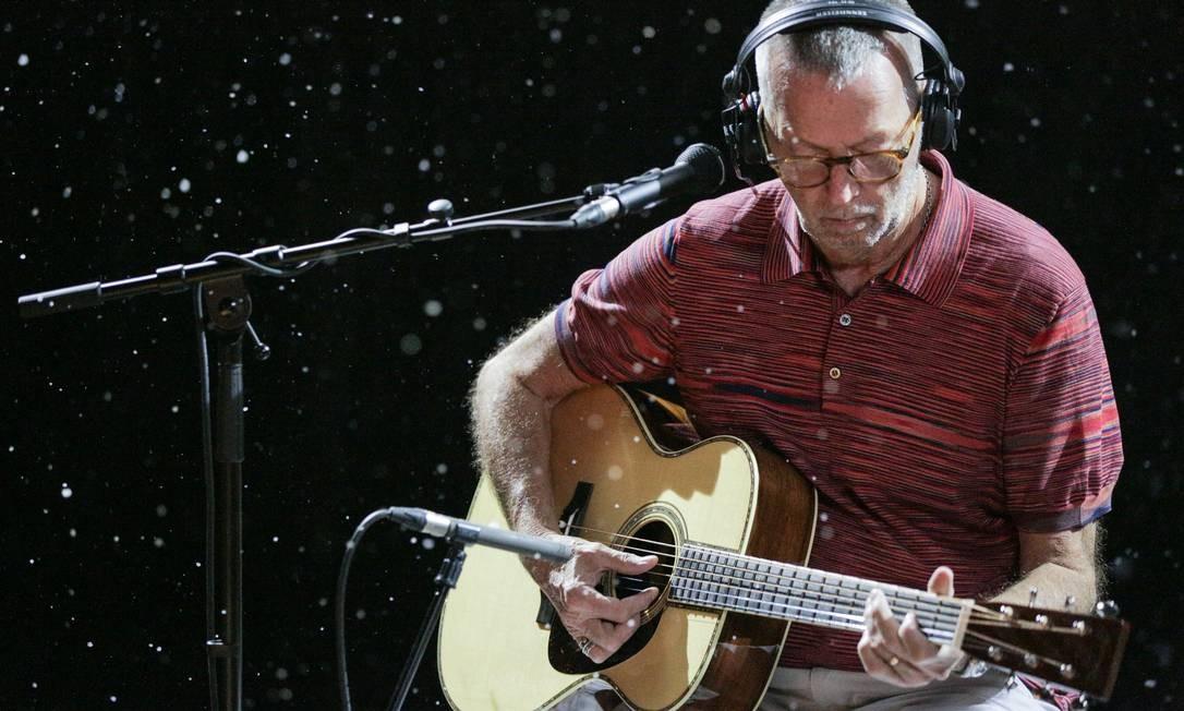 Eric Clapton lança disco natalino Foto: Suzie Kaplan / Divulgação