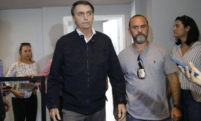 O candidato à Presidência da República Jair Bolsonaro (PSL) Foto: Fernando Frazão / Agência Brasil