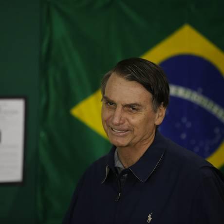 O candidato à Presidância da República, Jair Bolsonaro Foto: Pablo Jacob / Agência O Globo