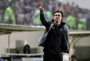 Thiago Larghi, durante passagem pelo Atlético-MG Foto: Bruno Cantini / Bruno Cantini / Atlético