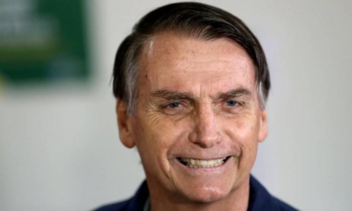 O candidato Jair Bolsonaro Foto: RIcardo Moraes / Reuters
