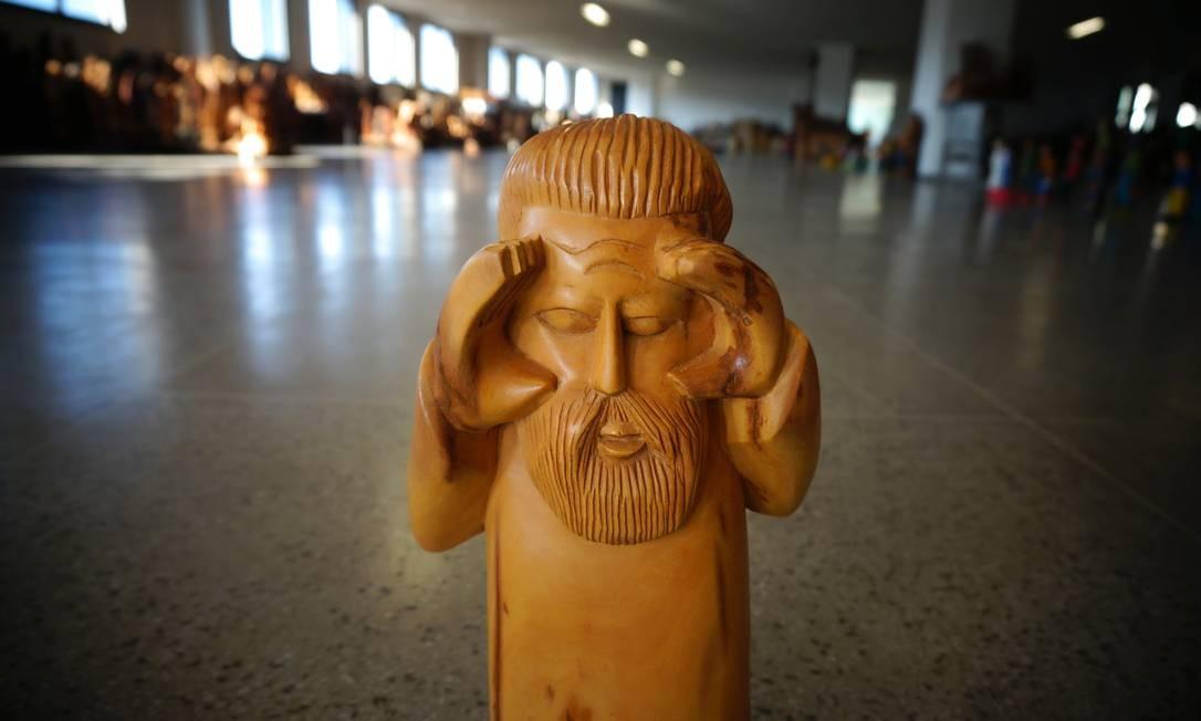 O consagrado artista chinês Ai Weiwei veio a São Paulo para a inaguração de sua maior mostra, intitulada Raiz Foto: Ai Weiwei Studio / Cortesia