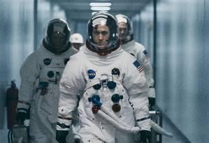 Ryan Gosling em cena de 'O primeiro homem', de Damien Chazelle Foto: Divulgação