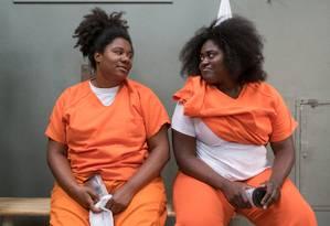 Cena da série 'Orange is the new black' Foto: JoJo Whilden / Divulgação