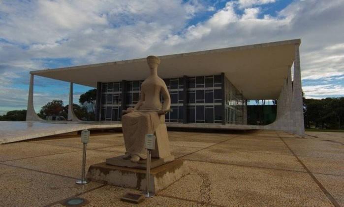 Fachada do Supremo Tribunal Federal Foto: Dorivan Martinho / Agência O Globo