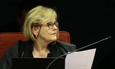 Ministra Rosa Weber. Imagem de 02/10/2018 Foto: Jorge William / Agência O Globo