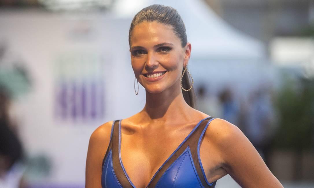 Daniella Sarahyba: modelo do bem Foto: DANIEL RAMALHO/ O Globo