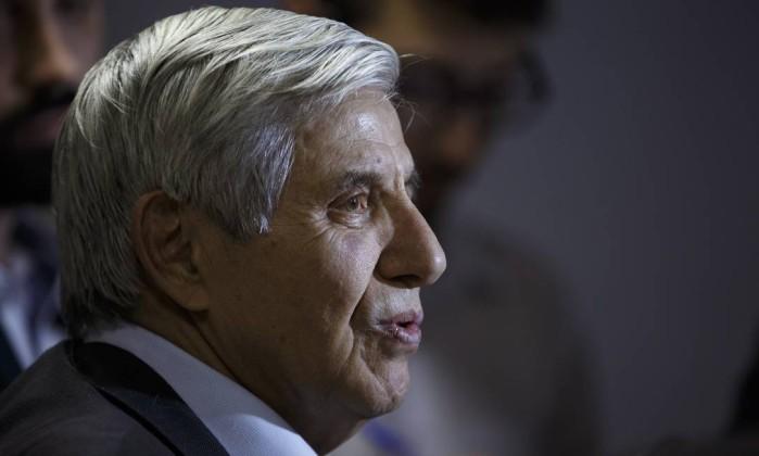 O general Augusto Heleno concede entrevista Foto: Daniel Marenco 11-09-2018 / Agência O Globo