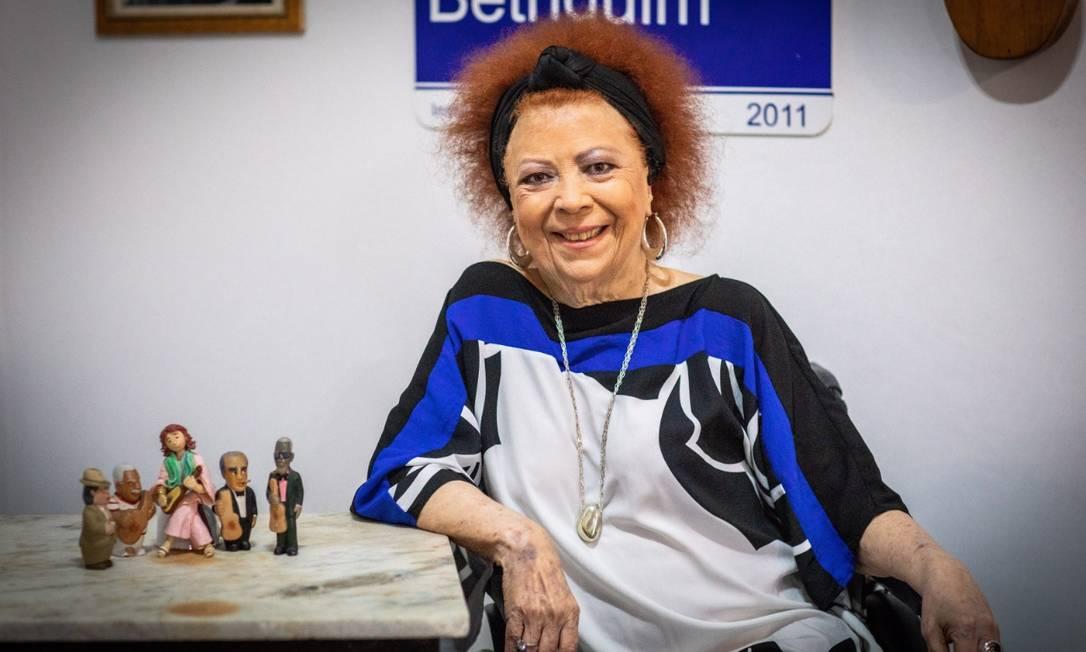 Beth Carvalho cantará seus maiores sucessos em comemoração pelos 53 anos de carreira Foto: Barbara Lopes