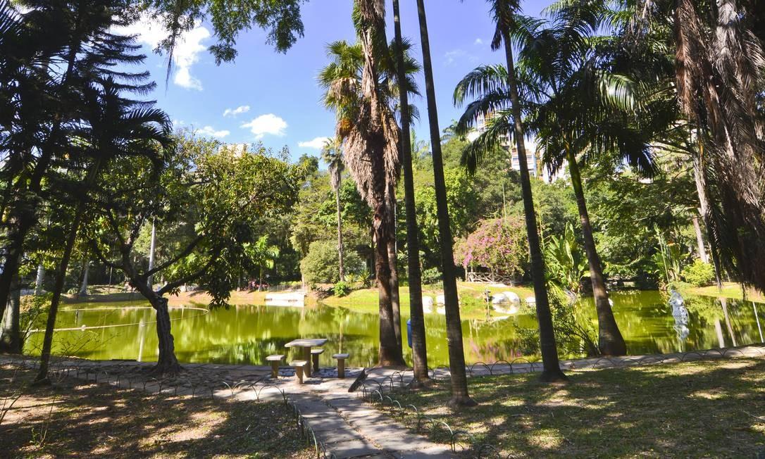 Parte do lago do Campo de São Bento: parque passará por transformações, mas pedidos como a instalação de uma área para animais ainda precisam ser aprovados pelo Departamento de Preservação ao Patrimônio Cultural. Foto: Divulgação / Prefeitura de Niterói