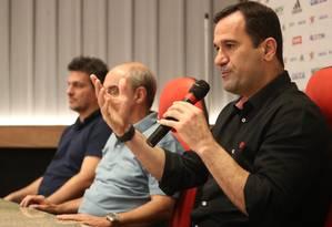Ricardo Lomba, candidato à presidência do Flamengo Foto: Gilvan de Souza/Flamengo
