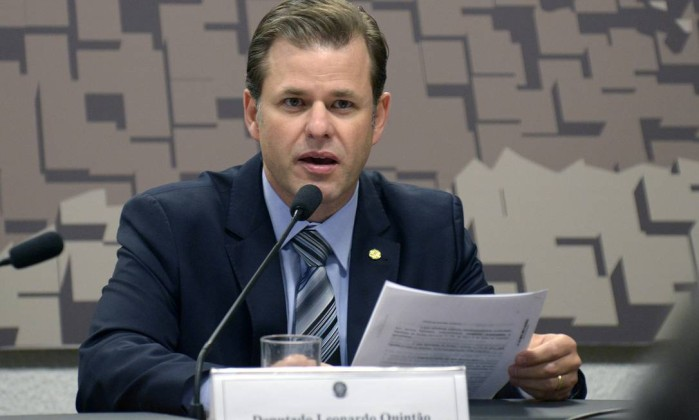 O deputado federal Leonardo Quintão Foto: Leonardo Prado / Câmara dos Deputados