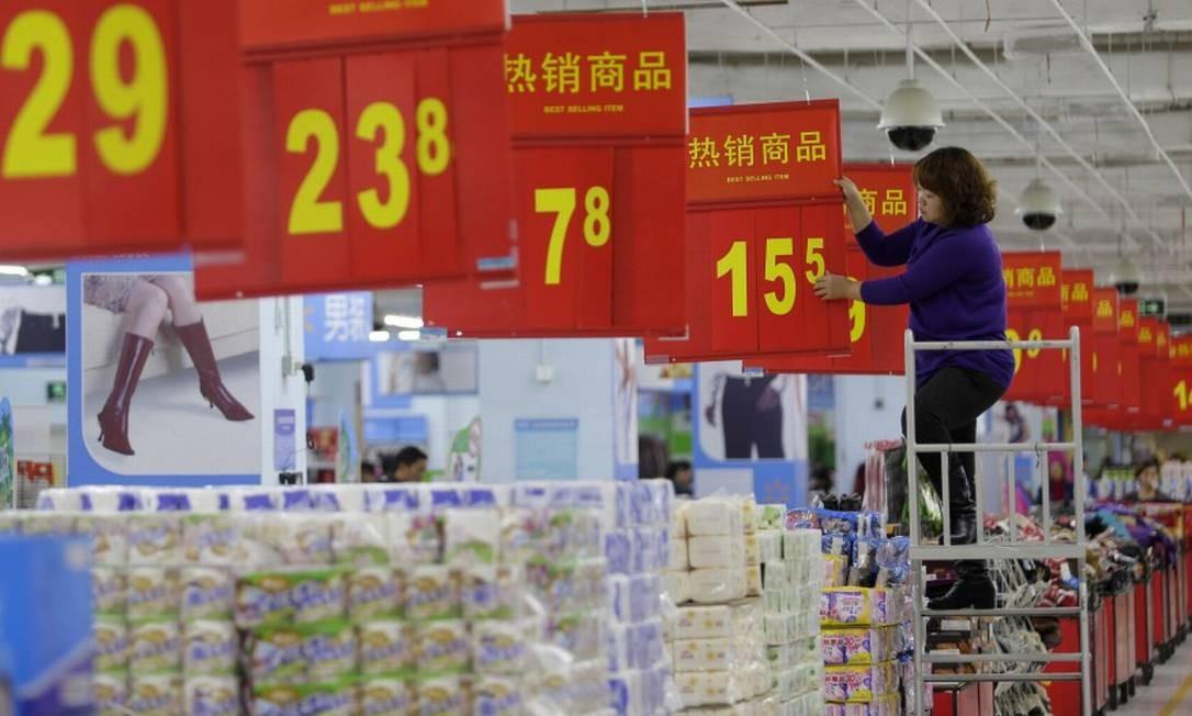 Fôlego menor de consumo preocupa as autoridades chinesas Foto: Darley Shen / Reuters