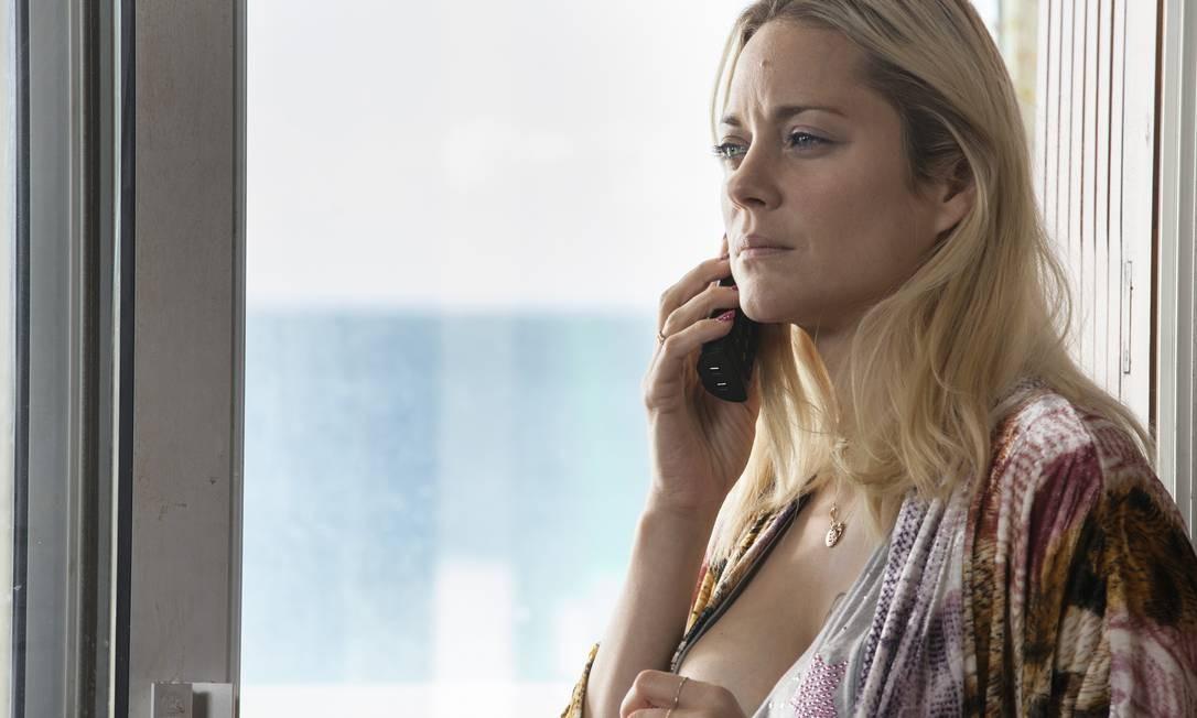 Marion numa cena do filme 'Meu anjo' Foto: Divulgação