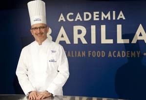 Roberto Bassi, chef da Academia Barilla Foto: Divulgação