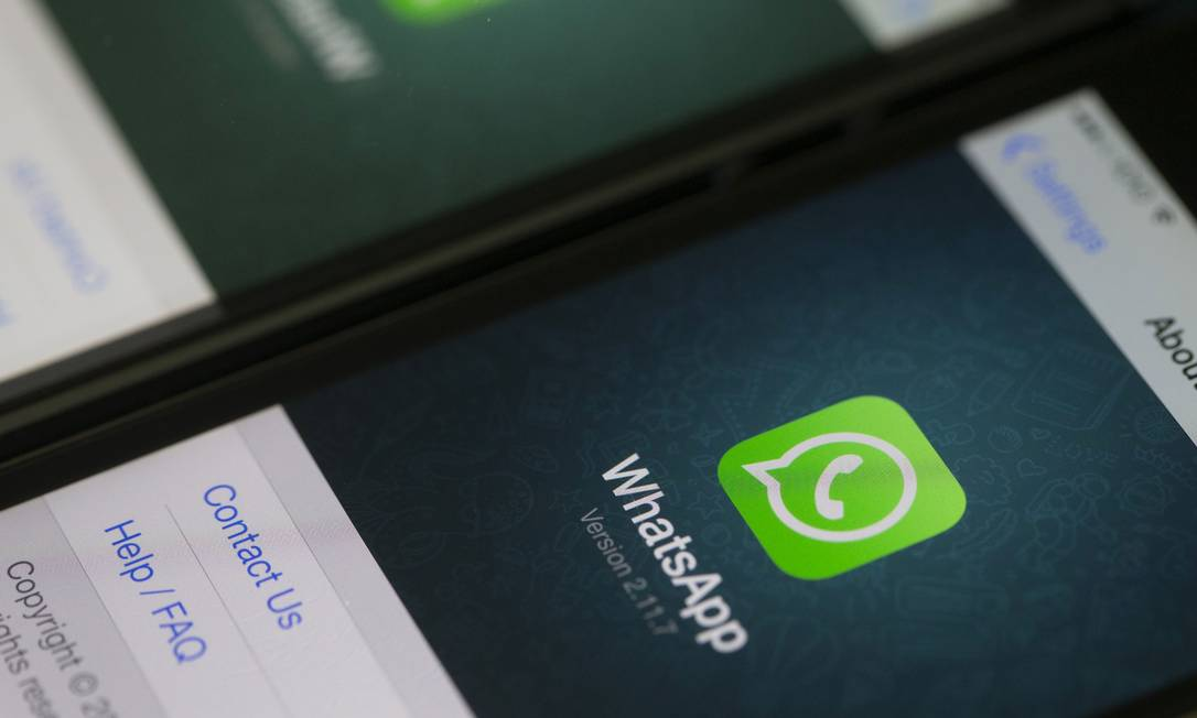 Aplicativo de mensagens WhatsApp Foto: Divulgação