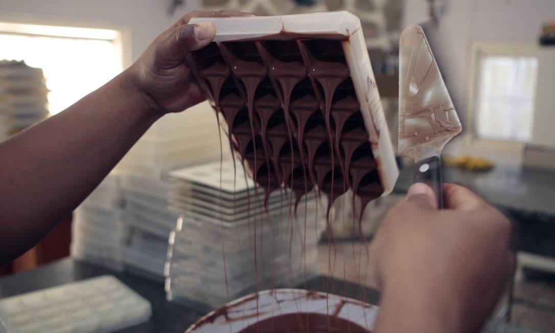 Fábrica de chocolate Foto: Luiz Ackermann / Agência O Globo