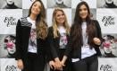 """Unidas. Camila Monteiro (à esquerda), Ana Paula Ferreira e Katharine Ferreira criaram o evento """"Entre elas"""
