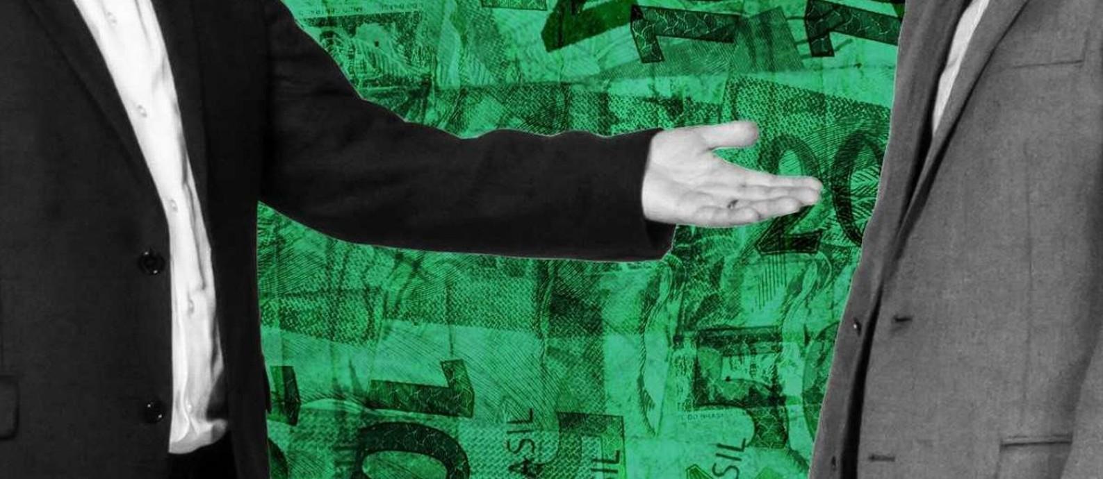 Mensagem distribuída pelo WhatsApp pedia transferências na conta do tesoureiro Foto: Agência O Globo