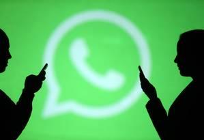 Whatsapp utiliza tecnologia de criptografia ponta a ponta para proteger dados das mensagens enviadas Foto: Dado Ruvic / Agência O Globo