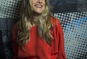 Ingrid Guimarães: atriz comanda a série documental 'Viver o riso, no Viva, que retrata a história do humor brasileiro Foto: Guito Moreto / Agência O Globo