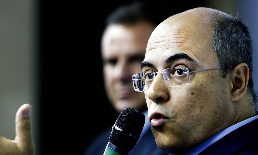 Wilson Witzel promete 'remodelar' UPPs Foto: Antonio Scorza / Agência O Globo