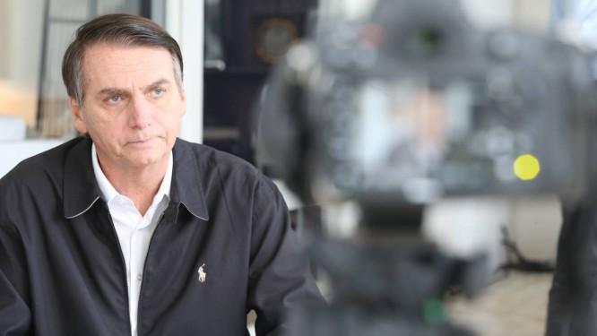 O candidato do PSL à Presidência, Jair Bolsonaro 20/10/2018 Foto: Fabiano Rocha/ Agência O GLOBO
