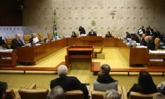 Três ministros do STF preferiram comentar sobre o caso sem serem citados Foto: Ailton de Freitas / Agência O Globo