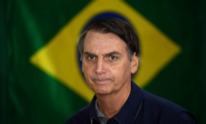 Jair Bolsonaro disputa Presidência do Brasil pelo PSL Foto: MAURO PIMENTEL / AFP