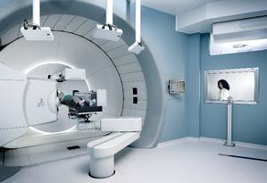 Aparelho utilizado para administração da protonterapia Foto: IBA Group/ Divulgação