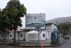 O residencial Style foi planejado para ser construído na Rua Major Fróes 255, em São Francisco. Foto: Pedro Teixeira / Agência O Globo