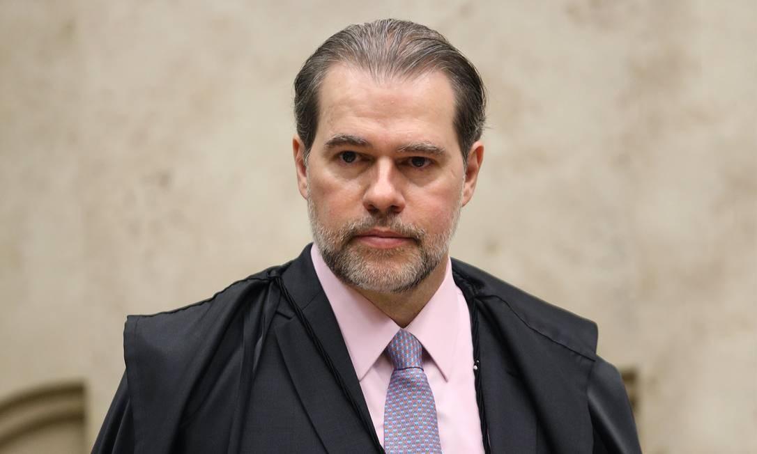 O presidente do STF, ministro Dias Toffoli Foto: Nelson Jr./STF/17-10-2018