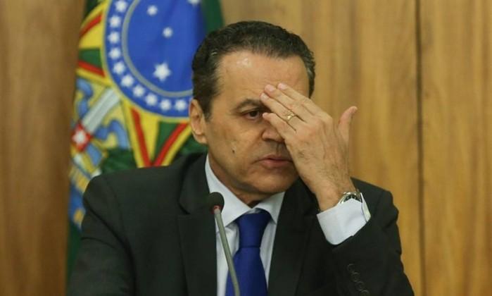 O ex-deputado e ex-ministro Henrique Eduardo Alves (MDB) Foto: André Coelho / Agência O Globo