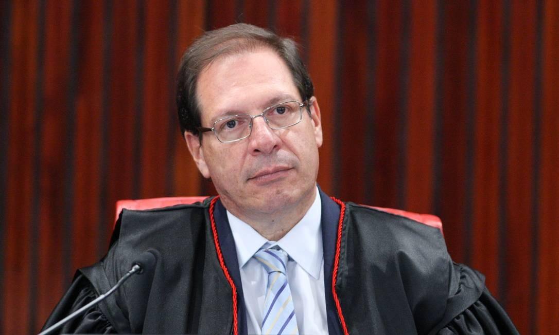 O ministro Luis Felipe Salomão, durante sessão do TSE Foto: Carlos Moura/TSE/03-10-2018