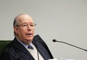 O Ministro Celso de Mello 25/09/2018 Foto: Ailton de Freitas / Agência O Globo