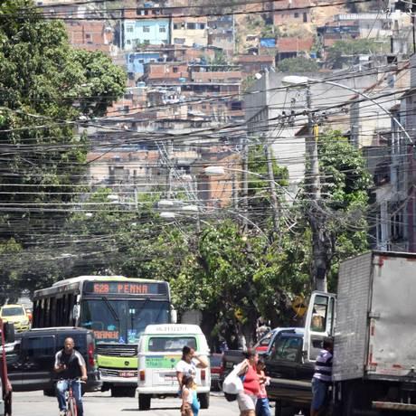 A Vila Cruzeiro, no Complexo da Penha Foto: Paulo Nicolella / Agência O Globo / 26.09.2017