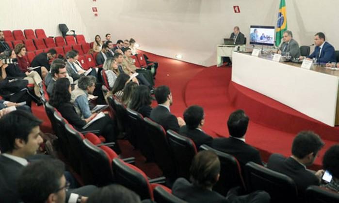 Reunião do TSE com checadores Foto: Divulgação