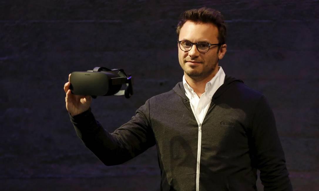Brendan Iribe anunciou sua saída fo Facebook em mensagem na rede social Foto: Robert Galbraith / REUTERS