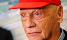 Niki Lauda em foto recente em Viena Foto: Leonhard Foeger/REUTERS
