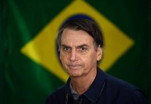 O candidato à Presidência Jair Bolsonaro (PSL) Foto: Mauro Pimentel / AFP
